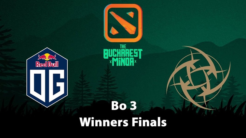 OG vs NIP | Winner Finals Bo 3 Game 1 | The Bucharest Minor EU Qualifier