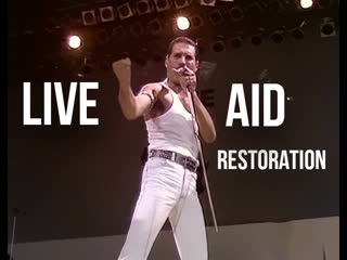 Queen | live aid 1985 | defenitive restoration