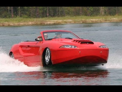 5 Water Cars You Wont Believe Exist