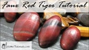 Polymer Clay Faux Technique: Faux Red Tiger Eye