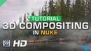 CGI 3D VFX Tutorials NUKE 3D Compositing by ActionVFX