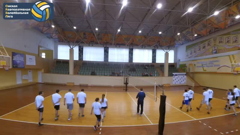 Дом ру 2 0 ИТСК 3 тур Сезон Осень 2018 Омская Корпоративная Волейбольная Лига ОКВЛ