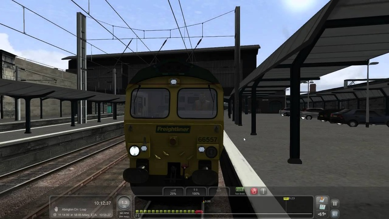Train Simulator 2016. West Coast Main Line. Class 66