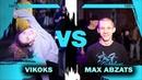 VIKOKS vs MAX ABZATS 1/4 FINAL EVRBDY vs KRUMP BTA BATTLE