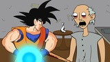 GRANNY THE HORROR GAME ANIMATION #2 GOKU Vs Scary Granny