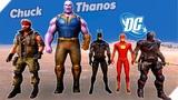 ТАНОС против ЧАК НОРРИСА и DC - Игра Ultimate Epic Battle Simulator