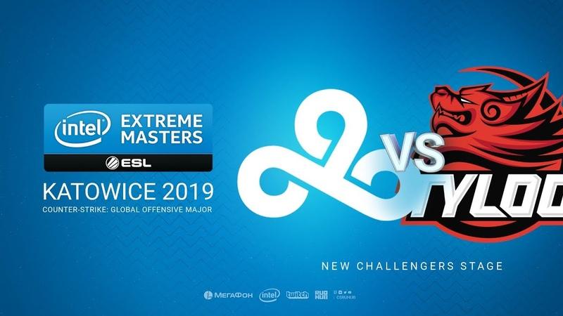 Cloud9 vs TYLOO - IEM Season XIII - Katowice Major 2019 - bo1 - de_overpass [MintGod Pchelkin]