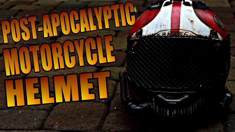 Fallout Post-Apocalyptic Motorcycle Helmet - Wasteland Wednesday