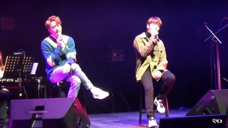 [FANCAM] 190112 TEEN TOP(틴탑) Chunji 100%(백퍼센트) Hyukjin - '나만 없어' @ CHUNJI's Acoustic Live