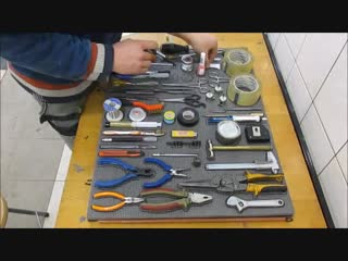 Подложка для инструментов своими руками