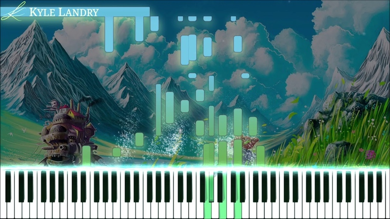 Kyle Landry Howl's Moving Castle 2 0 Synthesia Piano