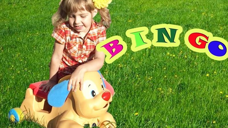 BINGO song by Malinka Kids Nursery Rhymes for kids with Lyrics