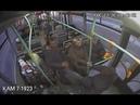Малолетка крушит автобус и сбегает в окно. Real Video