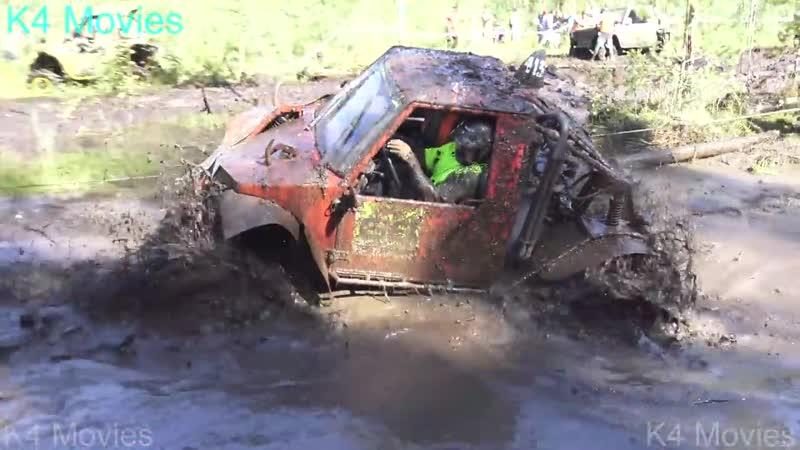 4x4 Off-Road vehicles mud race _ Rugaji 2016