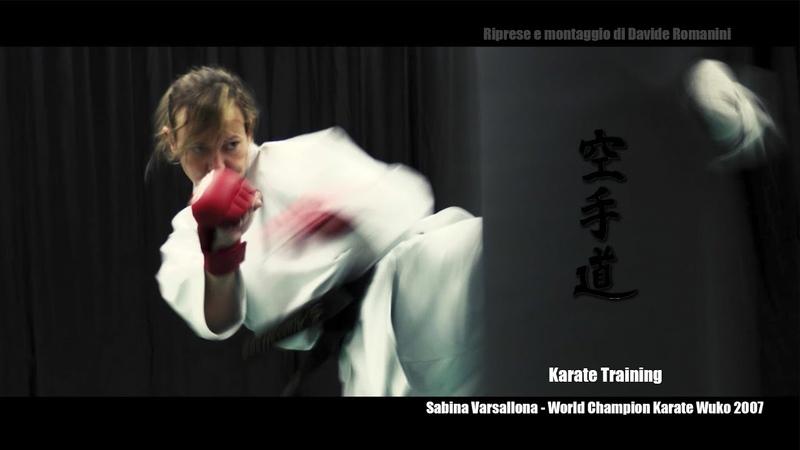 TRAILER 2016 Sabina Varsallona KARATE esercizi training japan martial arts kanku sho e unsu