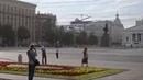 КРУТИЗНА - Кортеж Путина 3 вертолета приземление в центре города и пересадка в Мерседес