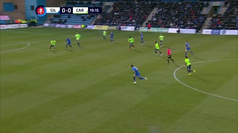 Кубок Англии 2018-2019 3-й раунд Джиллингем - Карфифф Сити ESPN 1-й тайм