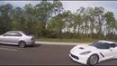 BMW M3 JB4 F80 vs Corvette C7 100% e85