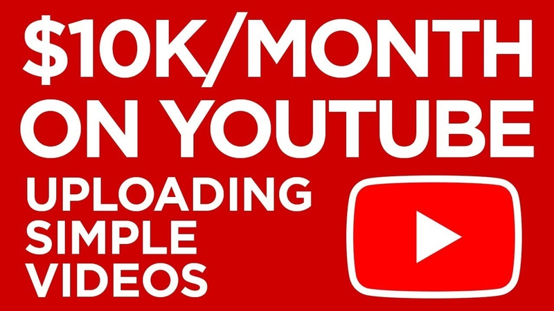 Make a Monthly Income On YouTube Uploading Simple Videos (Easy Method)