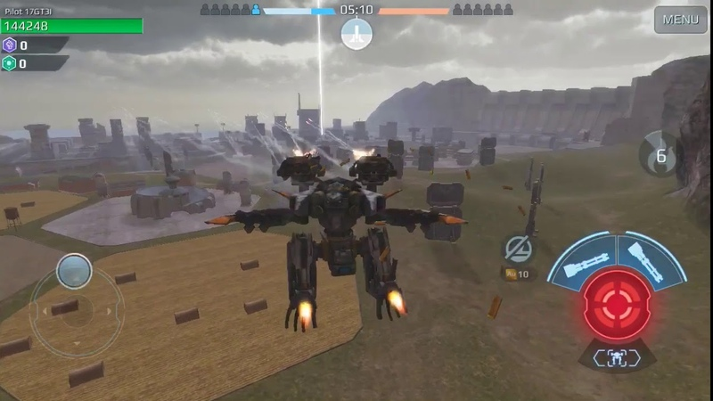 War Robots - new test server flying robots are 😎.