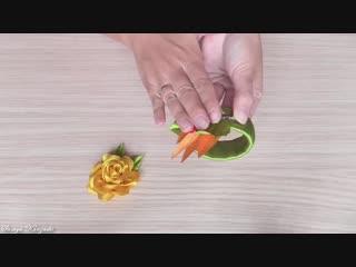 Украшение на браслет Канзаши - Осенний браслет