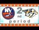 NHL 2018―2019 / REGULAR SEASON / 13 ОКТЯБРЯ 2018 /  NEW YORK ISLANDERS VS NASHVILLE PREDATORS 2―ND PERIOD