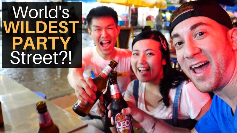 World's Wildest Party Street?! (Khao San Road)