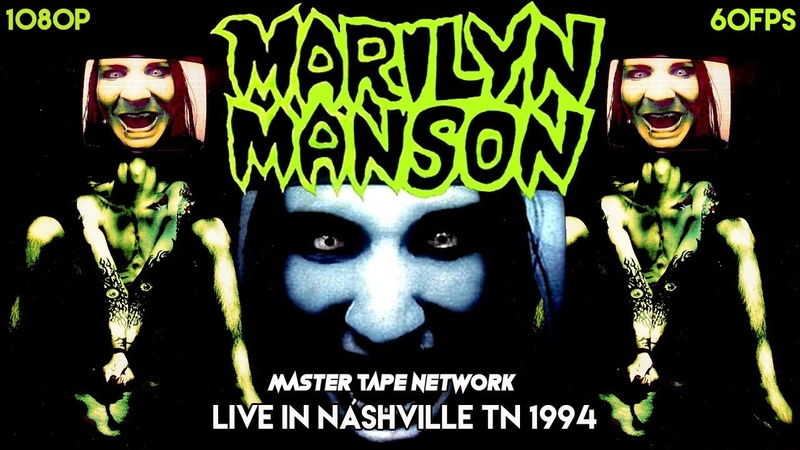 Marilyn Manson Live in Nashville TN 1994 Hi8 Tape ULTIMATE REMASTER 60fps 1080p