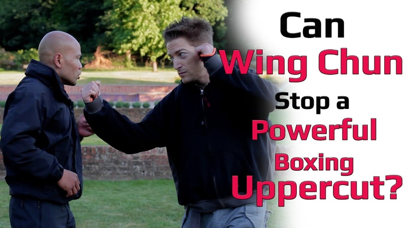 Can wing chun stops a powerful boxing Uppercut?