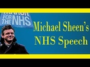 OFFICIAL 'People's March for the NHS' FULL Michael Sheen Speech 2015 (Tredegar)