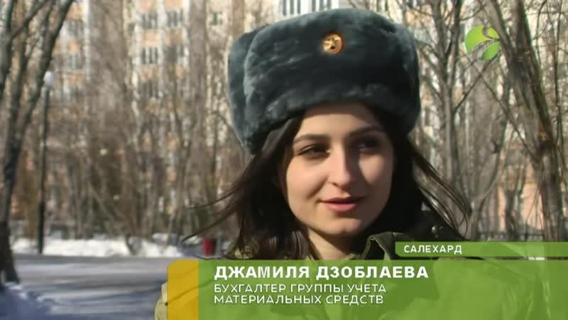 Сюжет с финалисткой конкурса Краса Росгвардии
