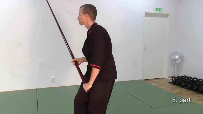 Вин Чун длинный шест. Wing Chun Long Pole Applications - Throws - Waving hands like clouds