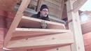 Винтовая лестница своими руками,для дома и дачи моя работа