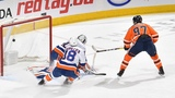 Connor McDavid backhands home overtime winner in return to lineup