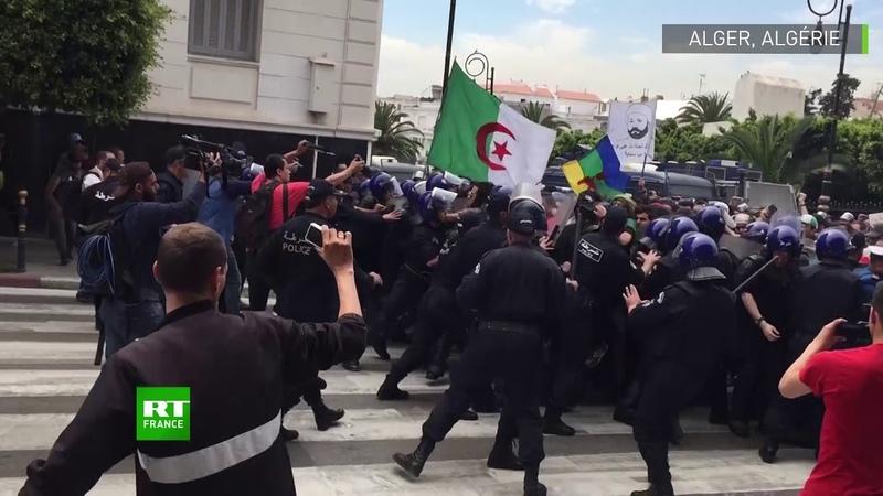 Algérie : affrontements entre étudiants et forces de l'ordre