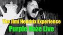 The Jimi Hendrix Experience Purple Haze Live cover