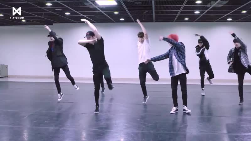 [Dance Practice] 몬스타엑스 (MONSTA X) - JEALOUSY (зеркало)