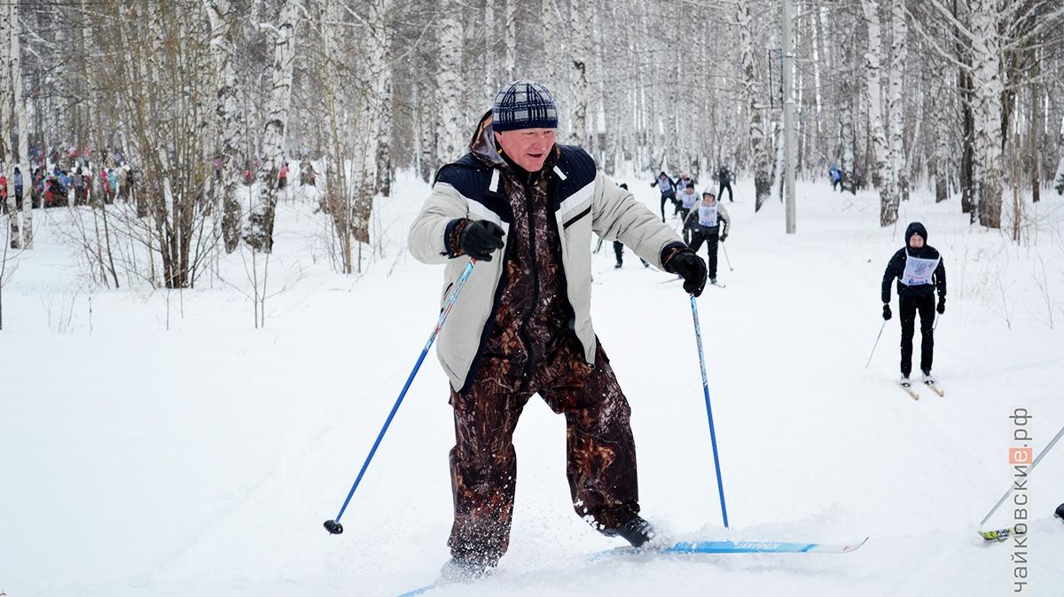 лыжня россии, чайковский район, 2019 год