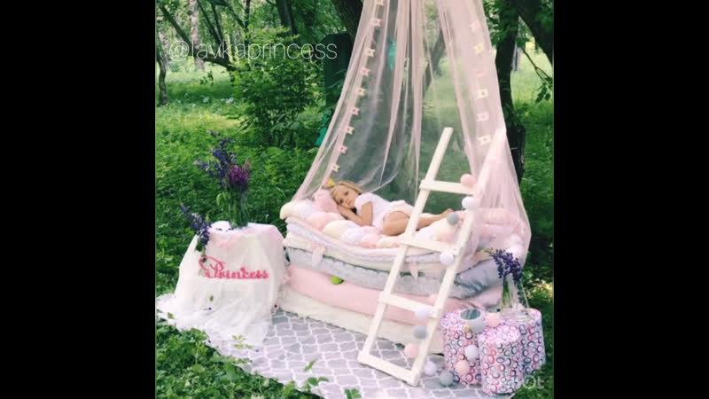 Фотопроект «Принцесса на горошине»