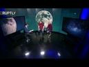 Полное лунное затмение вид из шести точек по всему миру