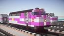 Minecraft MBTA F40PH 2C Locomotive Tutorial