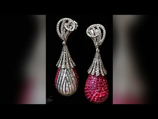 Beautiful earrings designs collection    Gold jhumka designs