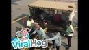 Hong Kong Airport Employees Toss Luggage Carelessly ViralHog