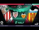 Amateur league КБР 2018| Ла лига. 19 тур. Атлетик Бильбао - Валенсия. 2 тайм.