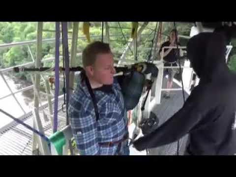 Extreme Bagpipe Bungee Jump