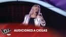Victoria Goldaracena - Call me - Blondie - Audiciones a ciegas - La Voz Argentina 2018