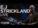 Le batteur E.J Strickland au festival Jazz en Tête