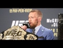 Conor McGregor Says a Fight at 145 is Next Talks Loss (UFC 196 Post)