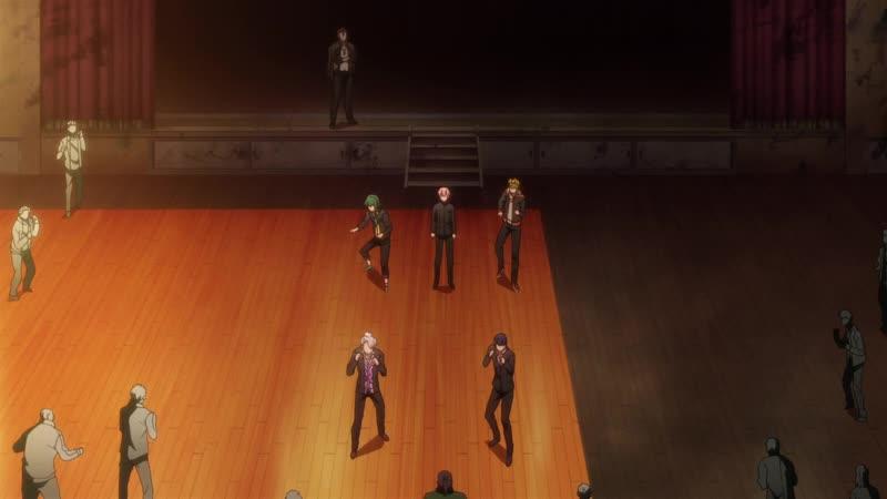 UJ Team 12 серия Боевой главарь банды Девушка бьёт парней Kenka Banchou Otome Girl Beats Boys 1080p