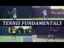 Tennis Fundamentals - Forehand Backhand Biomechanics From The Ground Up
